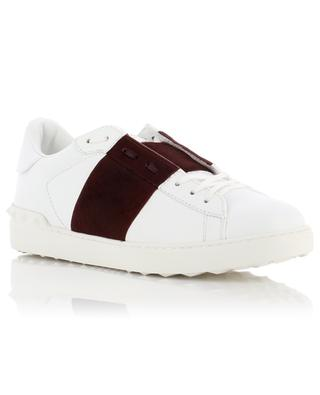 Open leather sneakers VALENTINO
