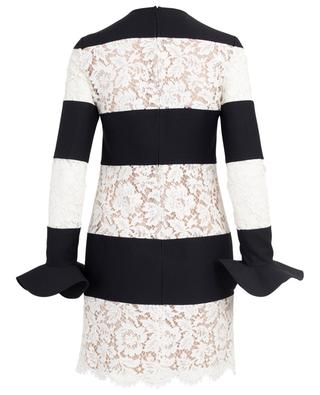 Virgin wool and lace dress VALENTINO