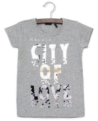 Besticktes T-Shirt City White IKKS JUNIOR