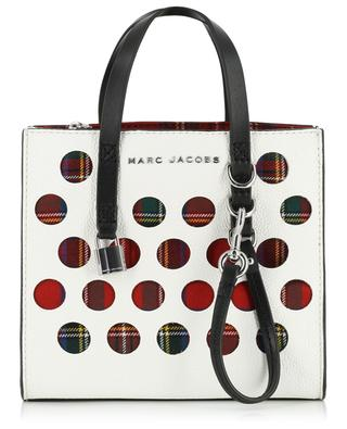 The Perforated Tartan Mini Grind tote bag MARC JACOBS