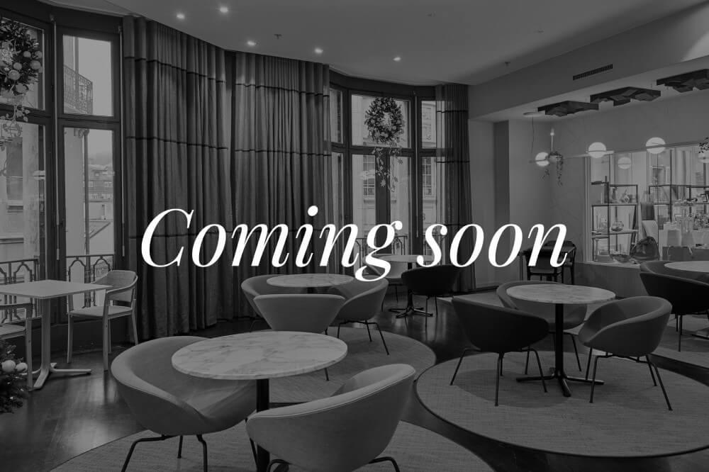 Restaurant Coming Soon Bongénie Grieder