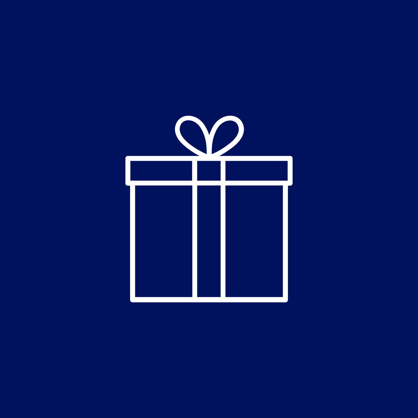 Geschenkverpackung auf Anfrage