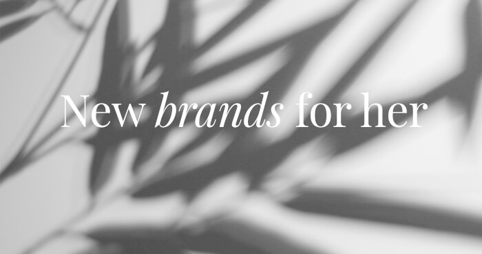 New brands for her