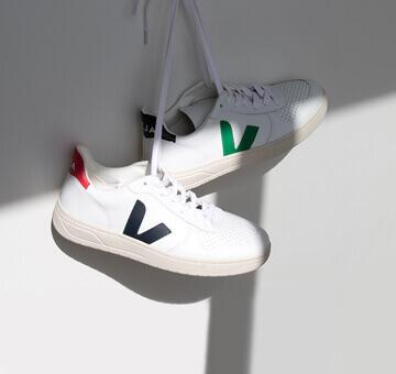 Coole, faire Sneakers von Veja